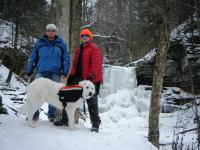 06-Jan-10 Ricketts Glen State Park 9 - Josh Joe and Jackson.jpg